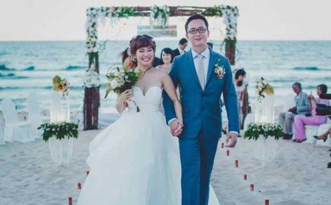 mơ thấy đám cưới trên bãi biển
