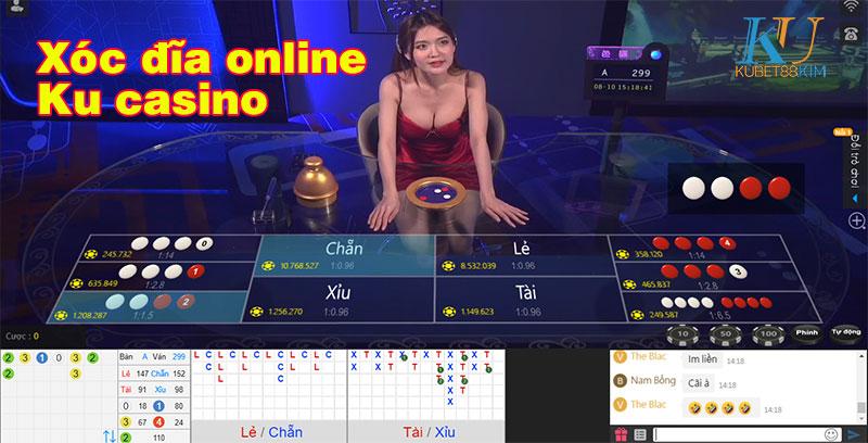 xóc đĩa online ku casino