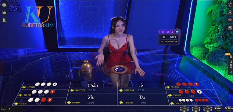 Xóc đĩa online ku casino kubet